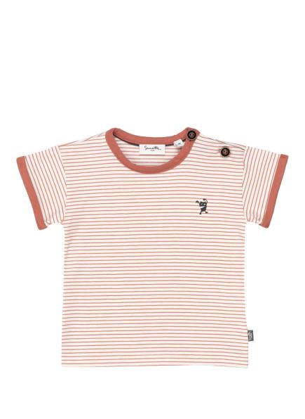 Sanetta PURE T-Shirt, Farbe: HELLROT/ WEISS (Bild 1)