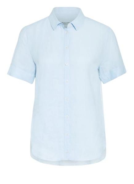 Marc O'Polo Hemdbluse mit Leinen, Farbe: HELLBLAU (Bild 1)