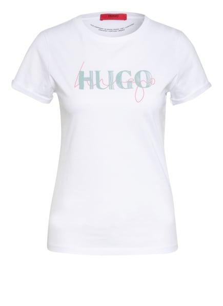 HUGO T-Shirt THE SLIM TEE , Farbe: WEISS (Bild 1)