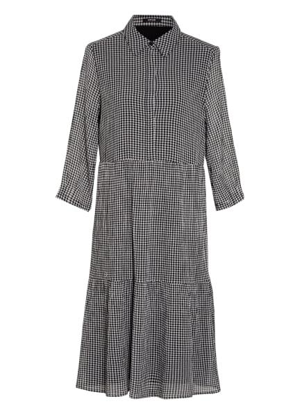OPUS Kleid WILANI mit 3/4-Arm, Farbe: SCHWARZ/ WEISS (Bild 1)