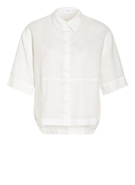 OPUS Blusenshirt FRIEDI aus Leinen, Farbe: CREME (Bild 1)