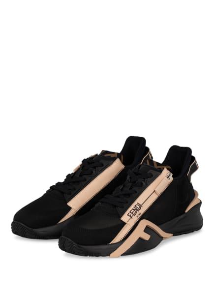 FENDI Sneaker FLOW , Farbe: SCHWARZ/ NUDE (Bild 1)