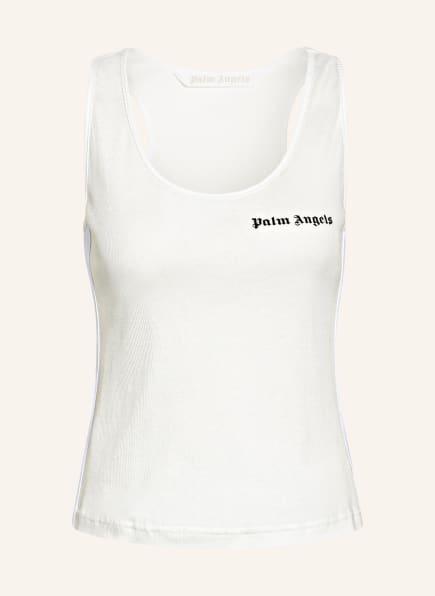 Palm Angels Tanktop mit Galonstreifen, Farbe: WEISS (Bild 1)