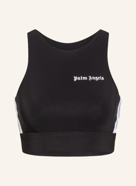 Palm Angels Cropped-Top, Farbe: SCHWARZ/ WEISS (Bild 1)