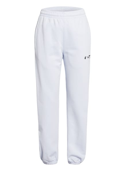 Off-White Hose im Jogging-Stil, Farbe: HELLBLAU (Bild 1)