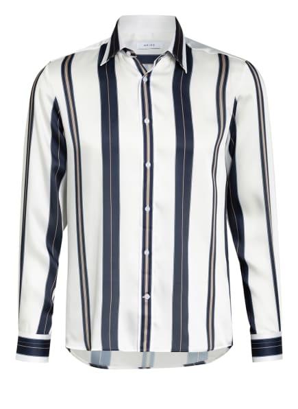 REISS Hemd FONTAINE Regular fit, Farbe: DUNKELBLAU/ WEISS/ HELLBRAUN (Bild 1)