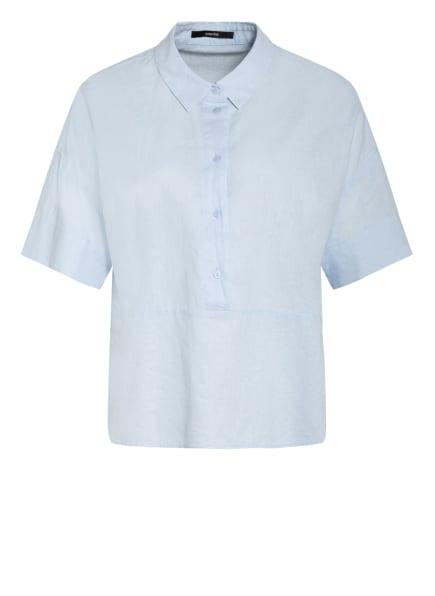 someday Bluse ZELINEN mit Leinen, Farbe: HELLBLAU (Bild 1)