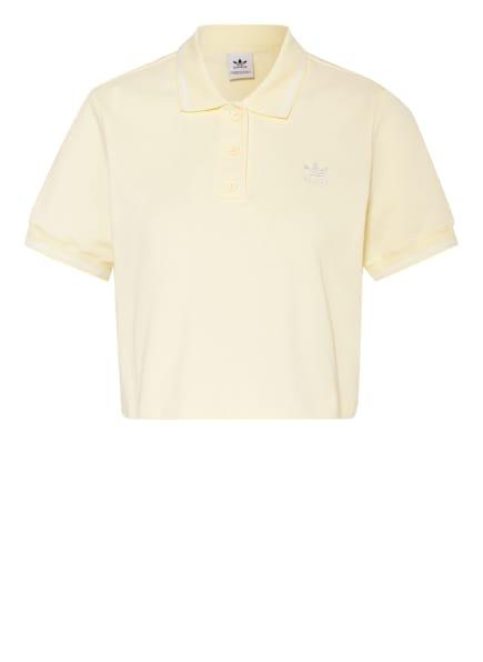 adidas Originals Piqué-Poloshirt, Farbe: HELLGELB (Bild 1)