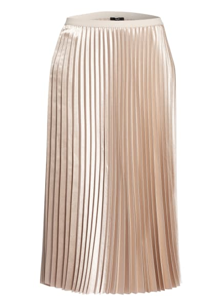 OPUS Plisseerock RURY, Farbe: BEIGE (Bild 1)