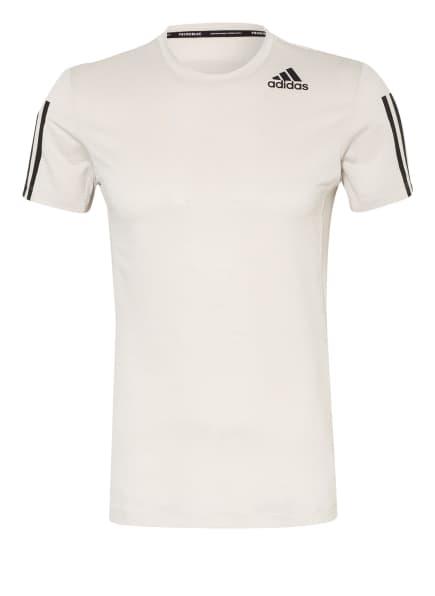 adidas T-Shirt PRIMEBLUE AEROREADY, Farbe: CREME (Bild 1)
