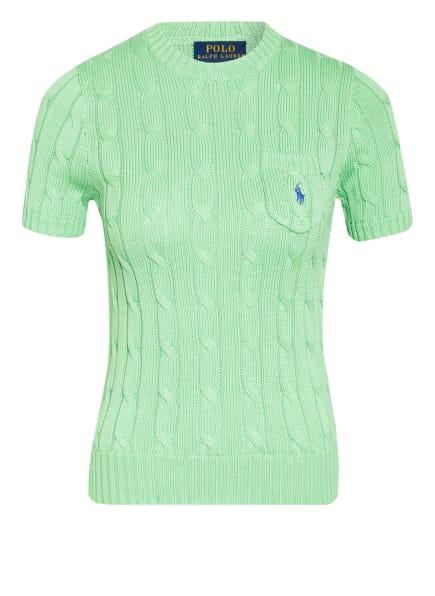POLO RALPH LAUREN Kurzarm-Pullover, Farbe: GRÜN (Bild 1)