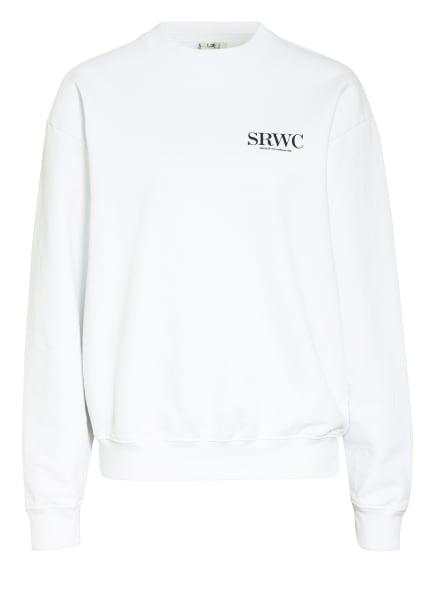 SPORTY & RICH Sweatshirt, Farbe: WEISS/ SCHWARZ (Bild 1)