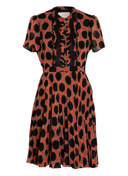 damsel in a dress Kleid, Farbe: SCHWARZ/ HELLROT/ GRAU (Bild 1)