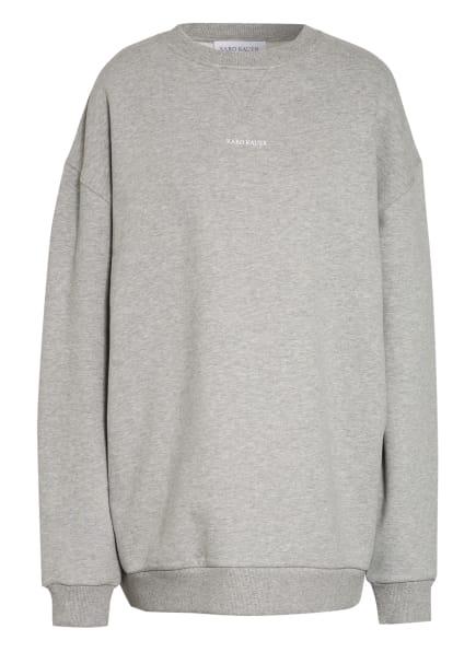KARO KAUER Oversized-Sweatshirt, Farbe: HELLGRAU (Bild 1)