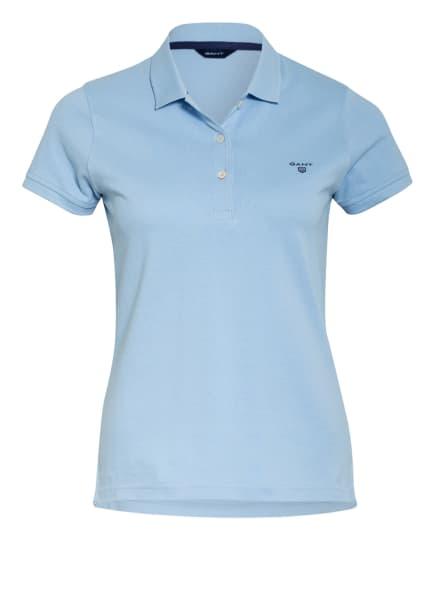 GANT Piqué-Poloshirt, Farbe: HELLBLAU (Bild 1)