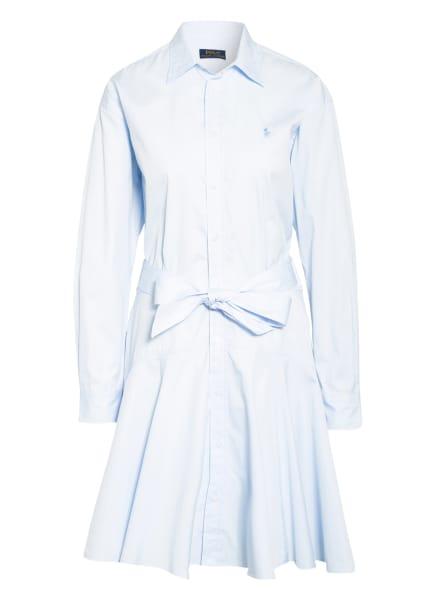 POLO RALPH LAUREN Hemdblusenkleid, Farbe: HELLBLAU (Bild 1)