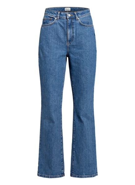 NA-KD Bootcut Jeans, Farbe: MID BLUE (Bild 1)