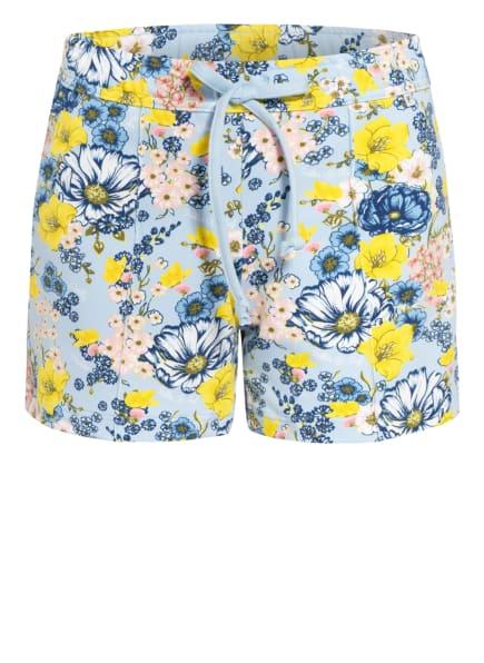 CALIDA Lounge-Shorts, Farbe: HELLBLAU/ BLAU/ GELB (Bild 1)