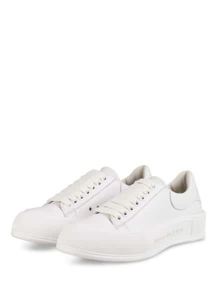 Alexander McQUEEN Plateau-Sneaker, Farbe: WEISS (Bild 1)