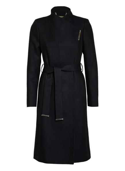 TED BAKER Mantel KRRISTA mit Wolle, Farbe: DUNKELBLAU (Bild 1)
