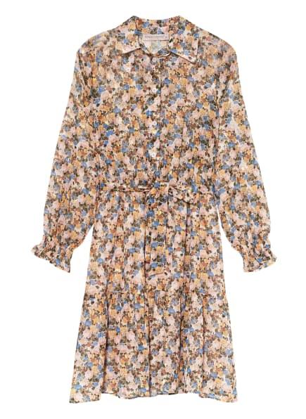 RINASCIMENTO Kleid, Farbe: CREME/ BLAU/ GRÜN (Bild 1)