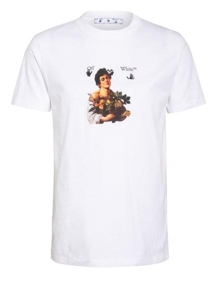 Off-White T-Shirt CARAVAGGIO BOY, Farbe: WEISS/ SCHWARZ (Bild 1)