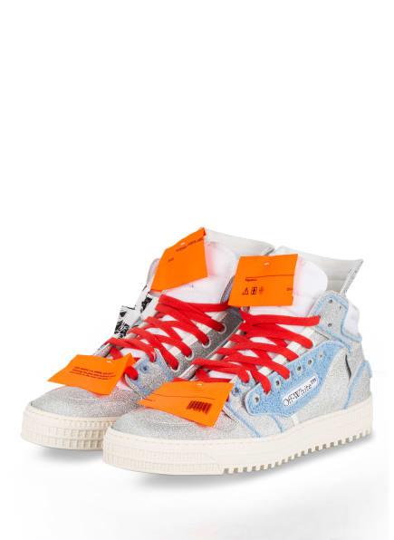 Off-White Hightop-Sneaker OFF COURT 3.0, Farbe: SILBER/ HELLBLAU (Bild 1)