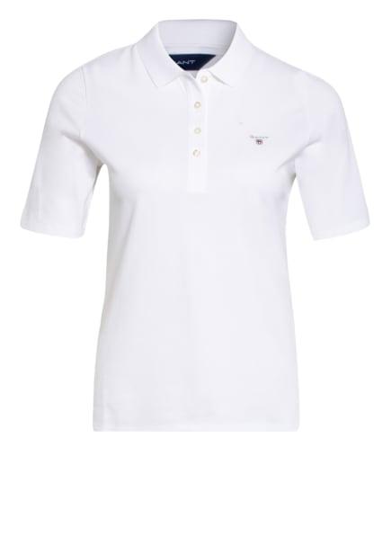 GANT Piqué-Poloshirt, Farbe: WEISS (Bild 1)