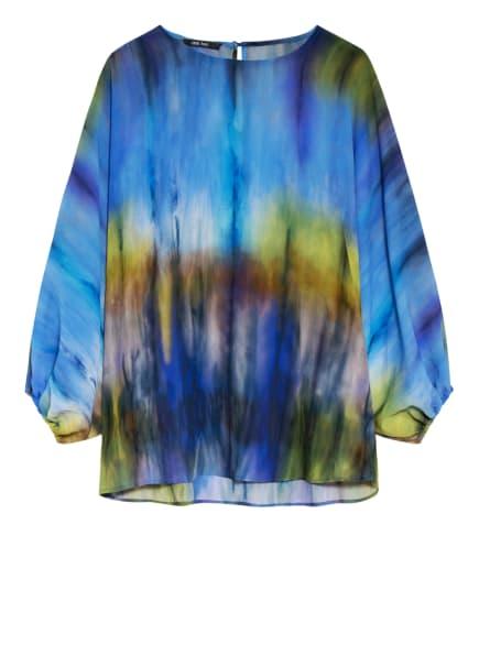 MARC AUREL Blusenshirt, Farbe: BLAU/ HELLGRÜN/ CREME (Bild 1)