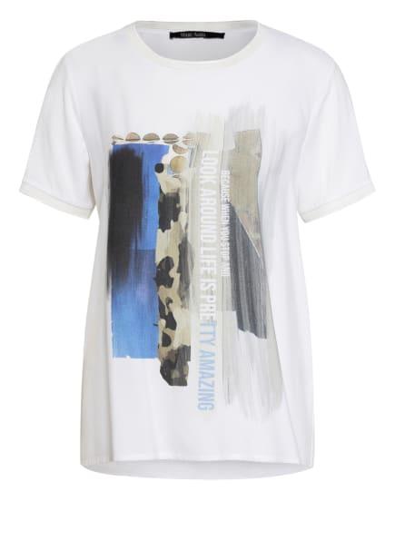MARC AUREL T-Shirt, Farbe: WEISS/ BLAU/ KHAKI (Bild 1)