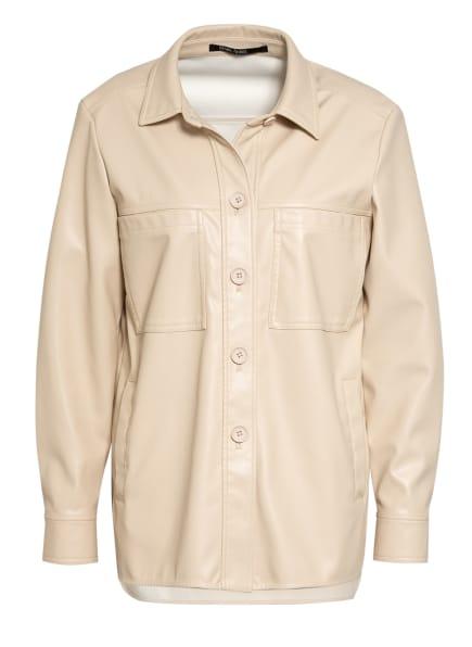MARC AUREL Overjacket in Lederoptik, Farbe: CREME (Bild 1)