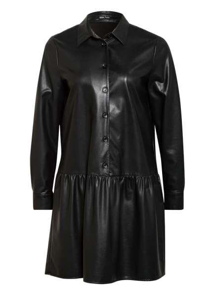 MARC AUREL Kleid in Lederoptik, Farbe: SCHWARZ (Bild 1)
