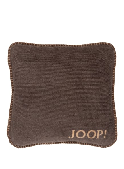 JOOP! Dekokissenhülle, Farbe: DUNKELGRAU/ HELLBRAUN (Bild 1)