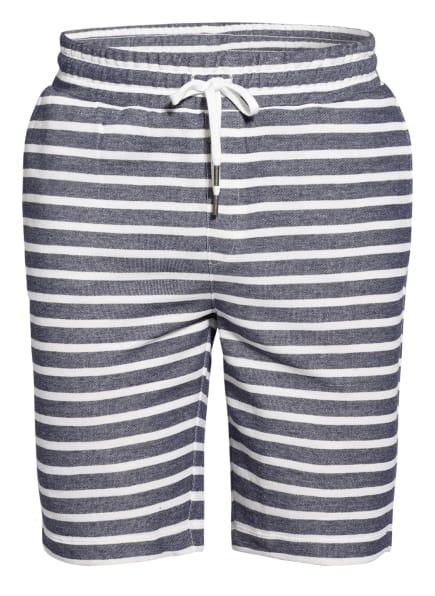 mey Lounge-Shorts Serie CLUB COLL., Farbe: DUNKELBLAU/ WEISS (Bild 1)