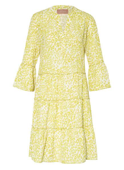 CARTOON Kleid mit 3/4-Arm, Farbe: WEISS/ GELB (Bild 1)