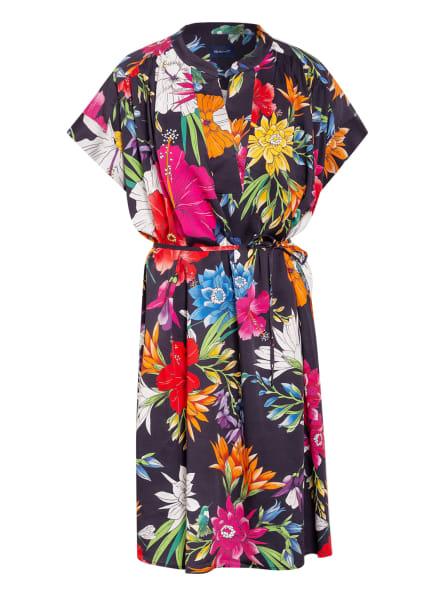GANT Kleid, Farbe: DUNKELBLAU/ FUCHSIA/ ORANGE (Bild 1)