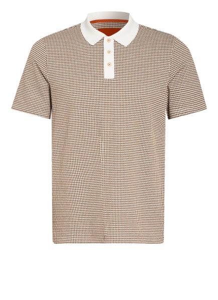 TED BAKER Poloshirt KRANE, Farbe: BRAUN/ CREME (Bild 1)