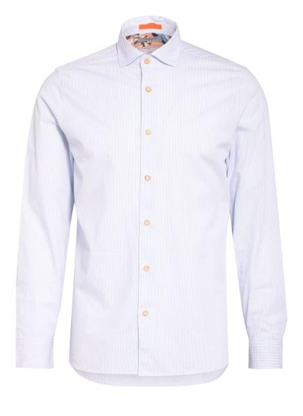 TED BAKER Hemd WALKAR Slim Fit, Farbe: WEISS/ BLAU (Bild 1)
