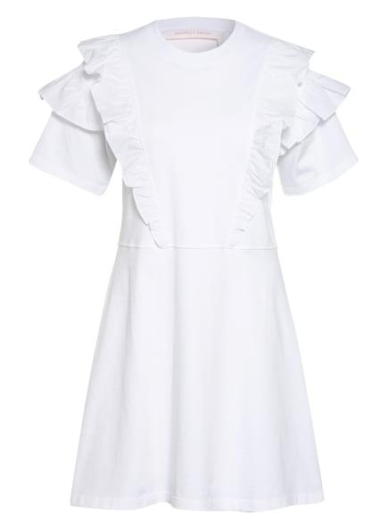 SEE BY CHLOÉ Jerseykleid mit Volants , Farbe: WEISS (Bild 1)