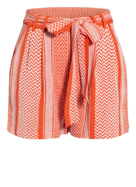 Mrs & HUGS Shorts, Farbe: HELLROT/ WEISS (Bild 1)