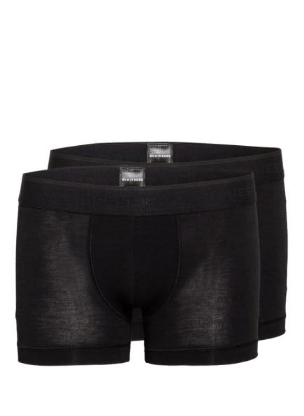 SCHIESSER 2er-Pack Boxershorts, Farbe: SCHWARZ (Bild 1)