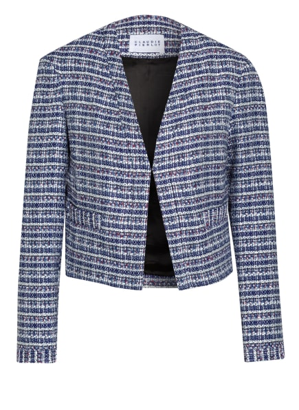CLAUDIE PIERLOT Tweed-Jacke VALSON , Farbe: WEISS/ HELLBLAU/ DUNKELBLAU (Bild 1)