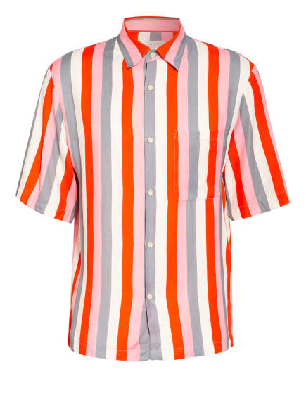 sandro Kurzarm-Hemd Regular Fit, Farbe: WEISS/ GRAU/ ROSA (Bild 1)