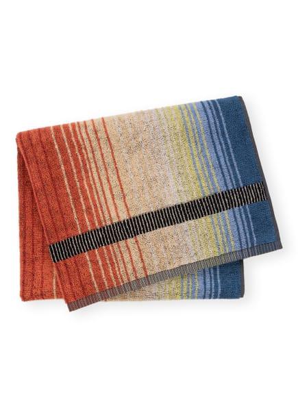 MISSONI Home Handtuch AYRTON , Farbe: SCHWARZ/ HELLGELB/ ORANGE (Bild 1)