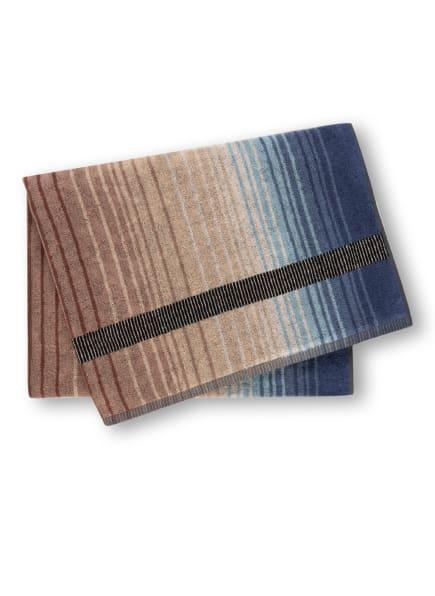 MISSONI Home Badetuch AYRTON, Farbe: BRAUN/ CAMEL/ HELLLILA (Bild 1)