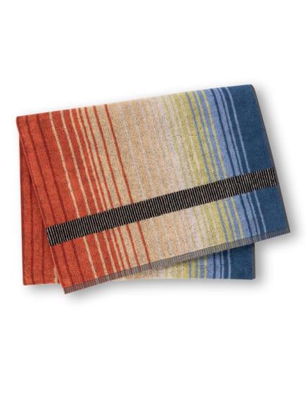 MISSONI Home Badetuch AYRTON, Farbe: ORANGE/ CAMEL/ SCHWARZ (Bild 1)