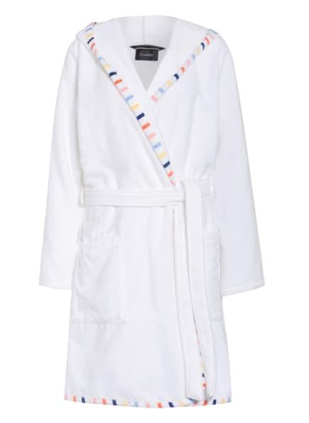 Cawö Damen-Bademantel mit Kapuze , Farbe: WEISS (Bild 1)