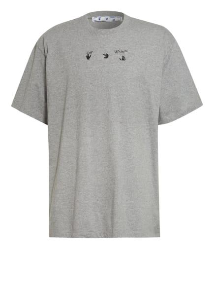 Off-White Oversized-Shirt, Farbe: GRAU/ BLAU (Bild 1)