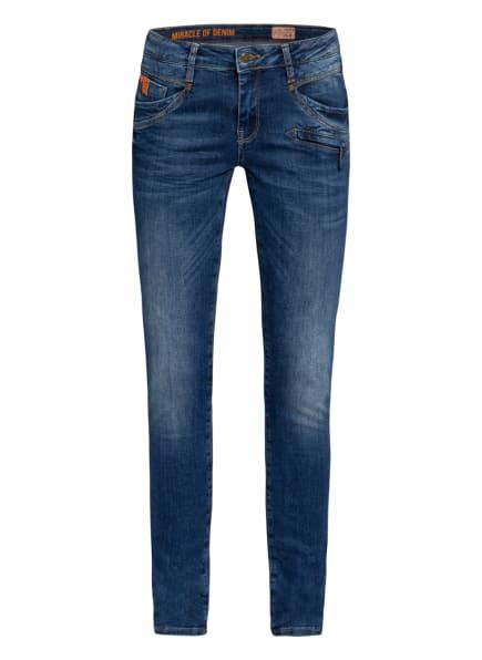 MIRACLE OF DENIM Skinny Jeans SUZY, Farbe: 3017 Minya Blue (Bild 1)