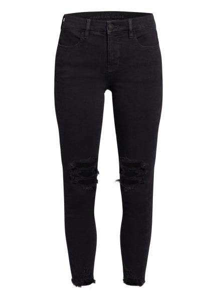 AMERICAN EAGLE Destroyed Jeans THE DREAM JEAN, Farbe: 045 BLACK BLAZE (Bild 1)